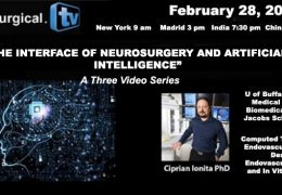 See the Three Part Series Just Completed by Ciprian Ionita Phd from UBuffalo which examines the Interface of Neurosurgery and AI