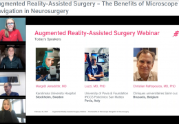 """VIDEO: """"Augmented Reality-Assisted Surgery – The Benefits of Microscope Navigation in Neurosurgery"""""""