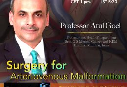 """NOW LIVE LIVE LIVE,  Juha's China Neurosurgery Grand Rounds, Friday 8 pm China time, with Atul Goel MD, """"Surgery for Arteriovenous Malformations"""""""