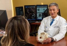 Long Island neurosurgeon first in U.S. to use new neuroendovascular treatment for brain aneurysms, with Web 17