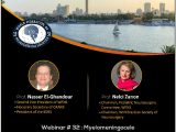 "From the WFNS Pediatric Division, ""Myelomeningocele"", Friday, 2 pm Cairo Time, 8 am EST"