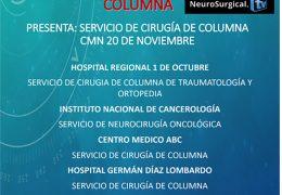 "AHORA, VIVO de Mexico, ""Tercer Sesion Mensual en Conversatorio de Cirugia De Columna"" con Paulo Pereira MD de Portugal"