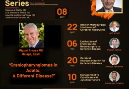 """LIVE….The Al-Mefty Series, with Michel Arraes presenting, """"Craniopharyngiomas in Adults: A Different Disease?"""""""