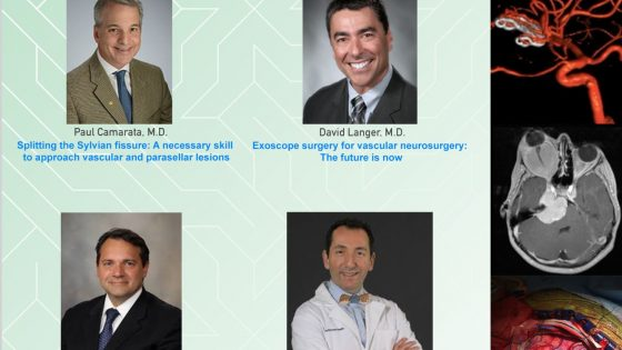 In less than 4 HOURS………LIVE….UMiami Department of Neurosurgery presents 4 Quality Webcast from Notable Neurosurgeons…..