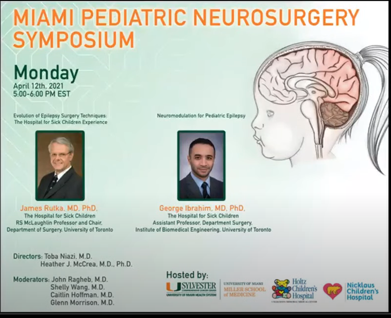 LIVE, from University of Miami Pediatric Neurosurgery: Miami Pediatric Neurosurgery Zoomposium