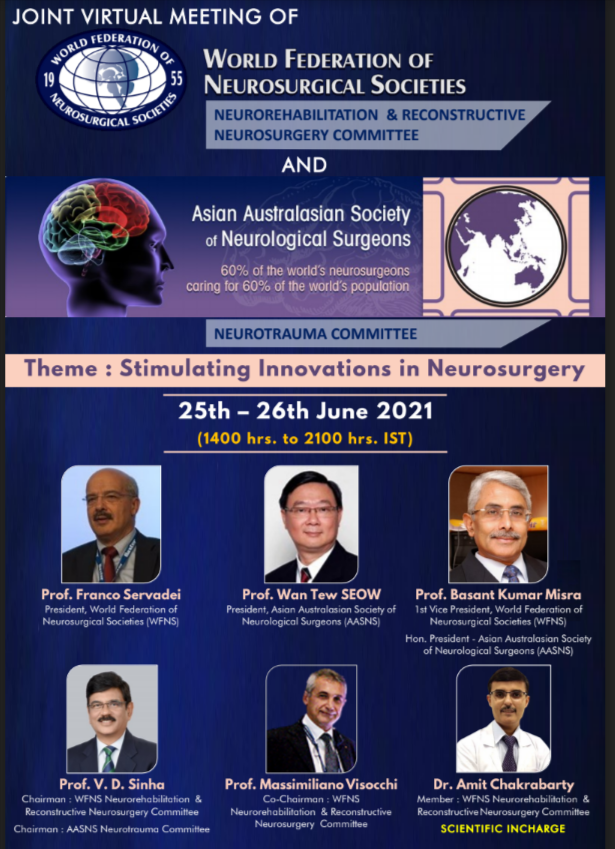 WFNS/AASNS Day #2 Joint Meeting of World Federation of Neurosurgical Societies (WFNS) and Asian Austrialian Society of Neurological Surgeons