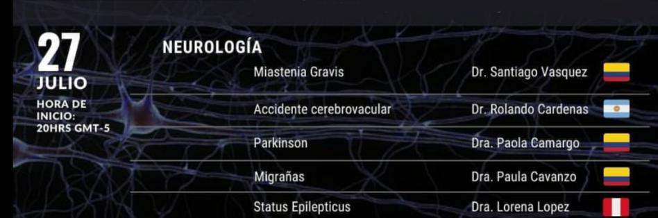 Grabado, 27 Julio, VIVO, #2 de Neuro Gods Congreso de Peru…………….
